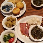 Lunch Sampler - Meat Loaf, Dumplings and Country Ham