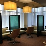 Small, convenient meeting areas off the lobby.