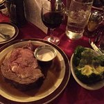 Prime Rib (Bentley's Cut), Broccoli side