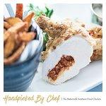 Buttermilk southern fried chicken dish on our dark nights menu