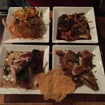 Seafood Trio Tasting Board