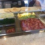 Veggie Options for a Falafel sandwich or Shawarma sandwich