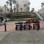 Bike Rentals near the Pier.