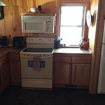 Full size fully stocked kitchen