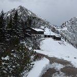 blick auf den berggasthof