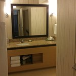 Larger of 2 bathrooms
