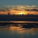 Rockaway Beach sunset.