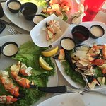 Stone crab claws, was so hungry almost forgot to take a picture