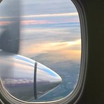 On the way - Fair Isle below...