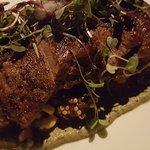 Marinated kobe steak