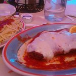 Chicken parm, as received