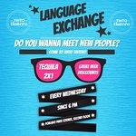 Language Exchange - Eevery Wednesday
