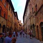 San Gimignano €2 gelato bottom of this street
