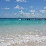 Beautiful beach at Bougainvillea