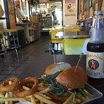 Grab burger fries and local root beer!