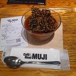 Best custard from muji cafe