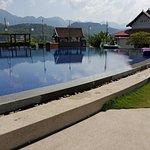 Luang Prabang View Hotel pool..worth a visit