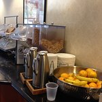 Breakfast buffet, Best Western Coyote Point Inn, San Mateo, CA