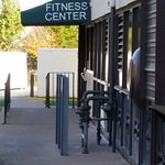 entrance to fitness center