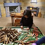 Lincoln logs..