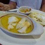 Boiled Haddock