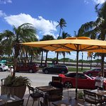 Great location at the spot and heart of Miami Beach and great view and great Restaurant
