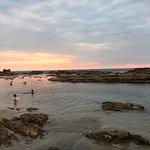 Pozas en Playa Cerritos