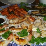 Grilled Seafood Combination