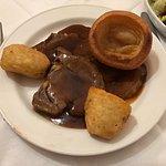 Roast beef rib