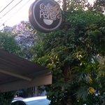 Café do Porto: vegetação