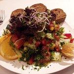 Gemischter Salat mit super Dressing
