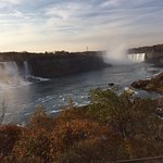 Niagara in November (we not there for the view but...)