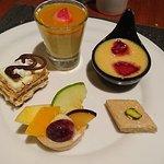 Dessert-Teller, absolut lecker!