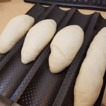 Home made baguette