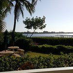 View of Sarasota Bay from the 2nd story huge porch of the 2/2 unit.
