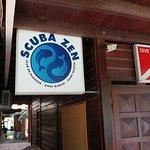scuba zen sign