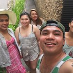 With my Dubai Friends in La Carmela De boracay