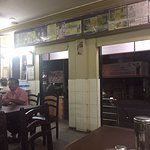 Babai Restaurant with pictures of various celebrities who have visited this restaurant