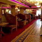 A pub-like bar inside the Park House Hotel