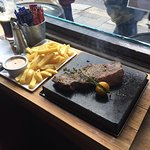The Norseman Steak - and divine Jamesons sauce!