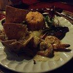 Arrachera and Shrimp
