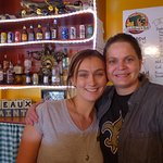 Great Waitress and Owner is on the Right