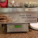 Love these machines - always make me laugh and pancakes are good!
