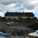 Fishermans cottages at Porlock weir. Close to the hotel.