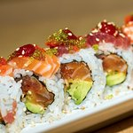 A Hanasho specialty - the Fire Roll