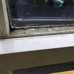 Dirty window frames