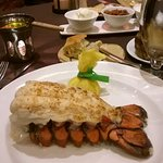 Excellent lobster tail