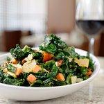 gourmet salad, seasonal produce