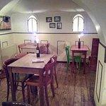 Gastraum im Keller