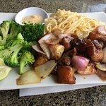 Filet Mignon Garlic Noodles